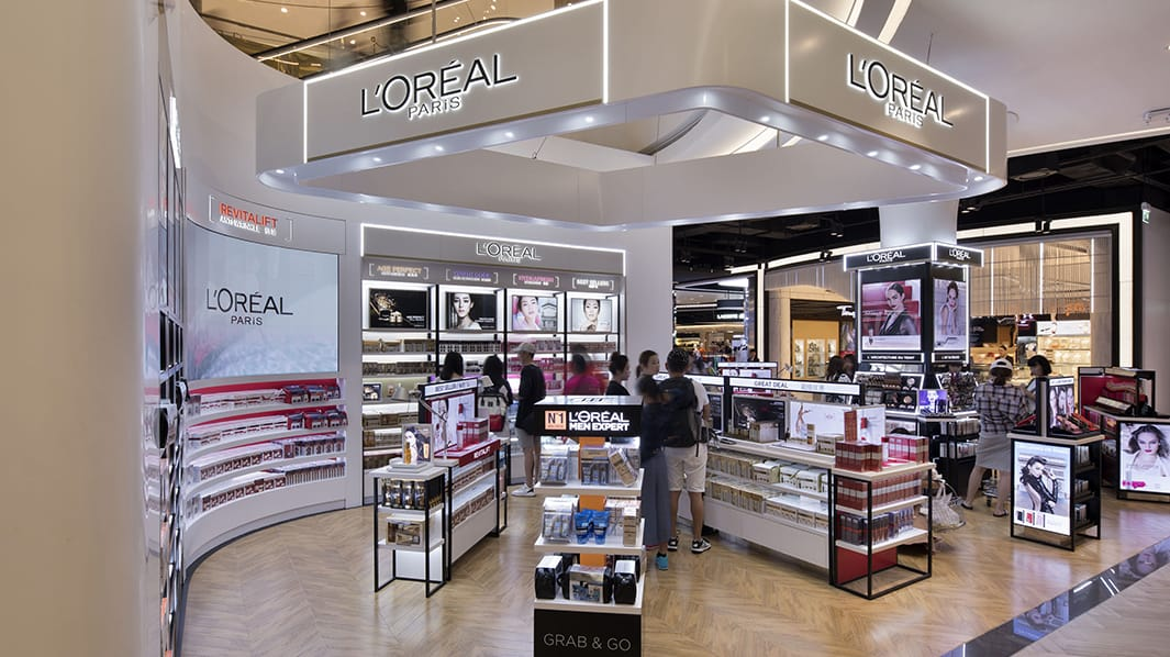 Image result for loreal in store