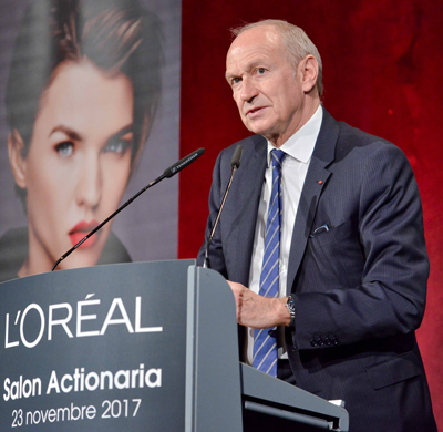 Jean-Paul Agon, Chairman and CEO of L'Oréal