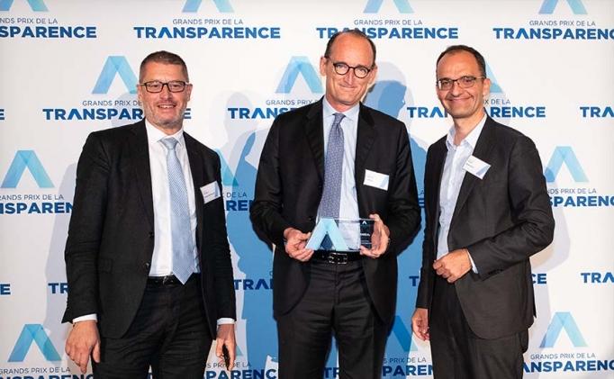 <span>L'Oréal reçoit le Grand Prix de la Transparence 2019 Toutes Catégories</span>